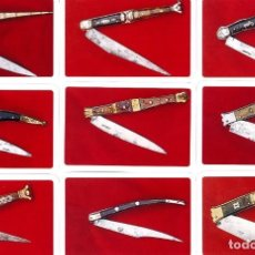 Coleccionismo Calendarios: 9 CALENDARIOS DE BOLSILLO NAVAJAS DE NAIPES COMAS - AÑO 2008. Lote 194752173