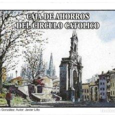 Coleccionismo Calendarios: CALENDARIO FOURNIER - AÑO 1999 - CAJA DE AHORROS DEL CIRCULO CATOLICO - NUEVO. Lote 194882945
