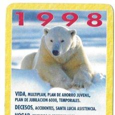 Coleccionismo Calendarios: CALENDARIO FOURNIER - AÑO 1998 - SANTA LUCIA - NUEVO. Lote 194883802