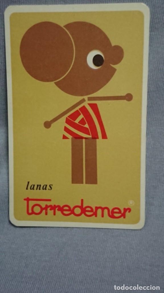 CALENDARIO PUBLICIDAD LANAS TORREDEMER AÑO 1969 (Coleccionismo - Calendarios)