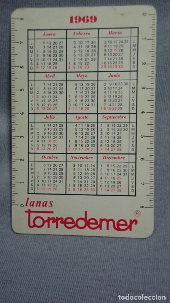 Coleccionismo Calendarios: CALENDARIO PUBLICIDAD LANAS TORREDEMER AÑO 1969 - Foto 2 - 194894917