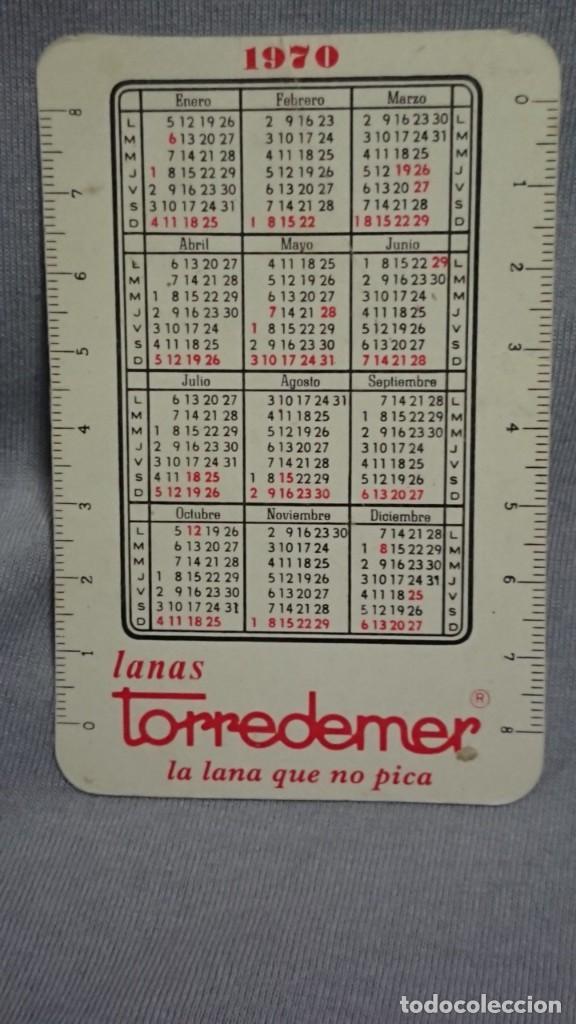 Coleccionismo Calendarios: CALENDARIO PUBLICIDAD LANAS TORREDEMER AÑO 1970 - Foto 2 - 194895000