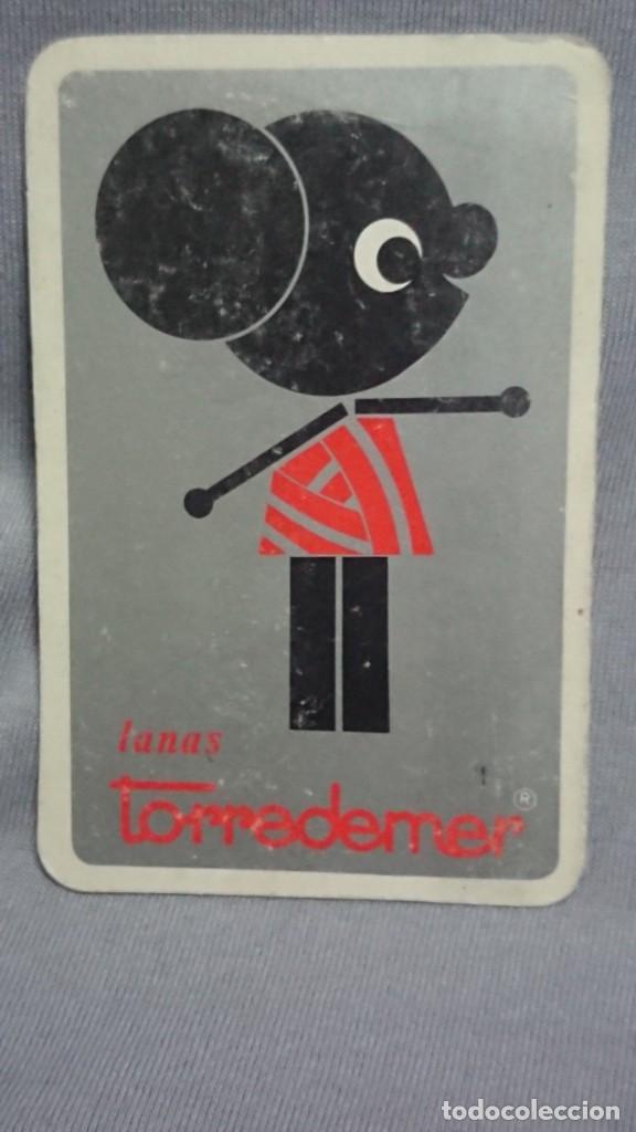 CALENDARIO PUBLICIDAD LANAS TORREDEMER AÑO 1970 (Coleccionismo - Calendarios)