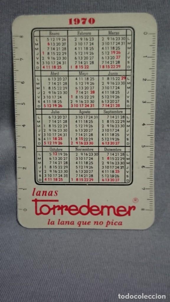 Coleccionismo Calendarios: CALENDARIO PUBLICIDAD LANAS TORREDEMER AÑO 1970 - Foto 2 - 194895040
