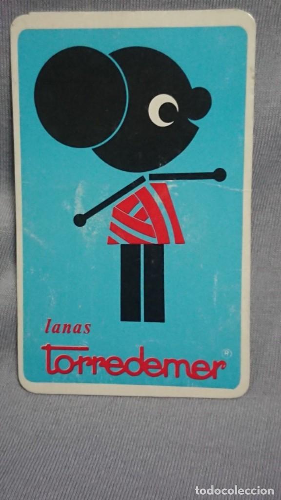 CALENDARIO PUBLICIDAD LANAS TORREDEMER AÑO 1972 (Coleccionismo - Calendarios)