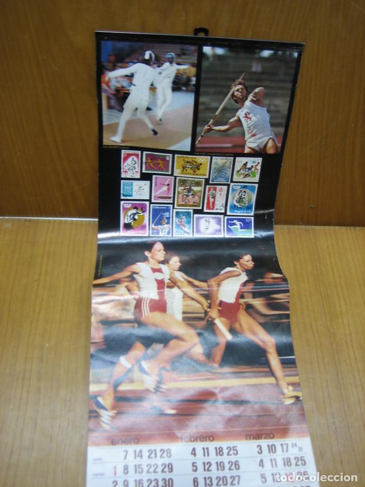 Coleccionismo Calendarios: Antiguo calendario deportivo Cegasa - Foto 2 - 194897265