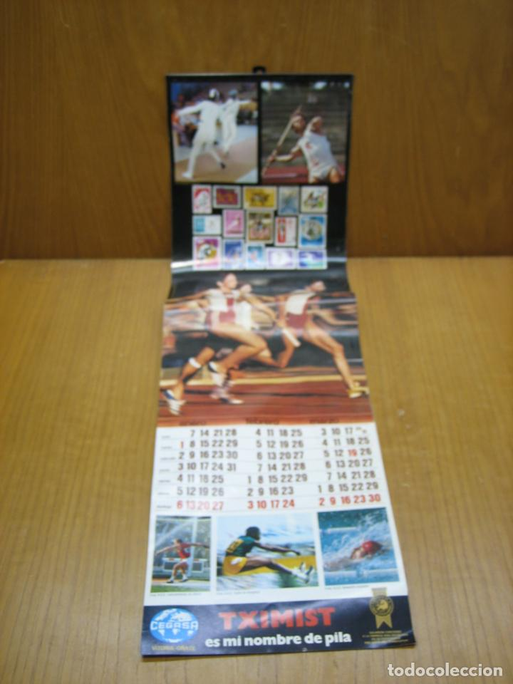 ANTIGUO CALENDARIO DEPORTIVO CEGASA (Coleccionismo - Calendarios)