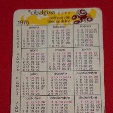 Coleccionismo Calendarios: CALENDARIO CIBALGINA CIBA AÑO 1975. Lote 194933005