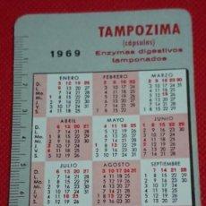 Coleccionismo Calendarios: CALENDARIO INCASA WOLF TAMPOZIMA AÑO 1969 1970 . Lote 194935687