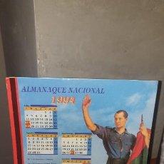 Coleccionismo Calendarios: ALMANAQUE NACIONAL 1994. Lote 194939711