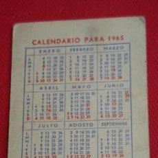 Coleccionismo Calendarios: CALENDARIO PIENSOS SENA AÑO 1965. Lote 194949512