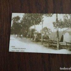 Coleccionismo Calendarios: CALENDARIO DE PUBLICIDAD BAR PARISIEN, IMAGÉN CADIZ ANTIGUA, ALAMEDA DE APODACA, AÑO 2004. Lote 194960090