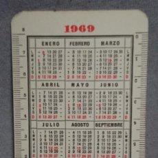 Coleccionismo Calendarios: CALENDARIO PUBLICIDAD MEDICAMENTO STOMALIX 3 AÑO 1969. Lote 194965722