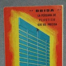 Coleccionismo Calendarios: CALENDARIO PUBLICIDAD PERSIANAS LAMA AÑO 1968. Lote 194966052