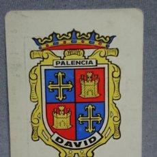 Coleccionismo Calendarios: CALENDARIO PUBLICIDAD MANTAS DAVID PALENCIA AÑO 1977. Lote 194966190