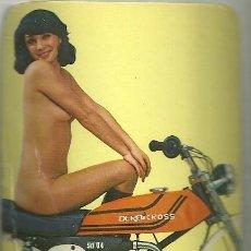 Coleccionismo Calendarios: CALENDARIO PUBLICITARIO. DERBI. MOTO. MOTOCICLETA. AÑO 1976. Lote 194966257