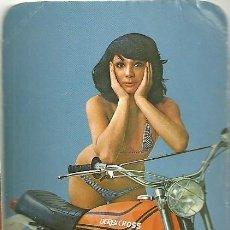 Coleccionismo Calendarios: CALENDARIO PUBLICITARIO. DERBI. MOTO. MOTOCICLETA. AÑO 1976. Lote 194966278