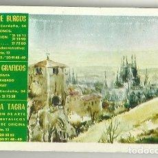 Coleccionismo Calendarios: CALENDARIO PUBLICITARIO. DIARIO DE BURGOS. AÑO 1980. Lote 194966477