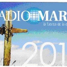 Coleccionismo Calendarios: CALENDARIO RADIO MARIA 2016. Lote 194982111