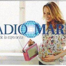Coleccionismo Calendarios: CALENDARIO RADIO MARIA 2016. Lote 194982207
