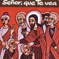 Coleccionismo Calendarios: CALENDARIO DE H. FOURNIER 1985 SACERDOTES OPERARIOS DIOCESANOS. Lote 194982312