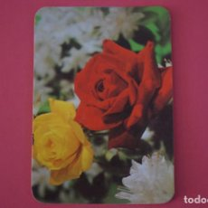Coleccionismo Calendarios: CALENDARIO DE BOLSILLO SIN PUBLICIDAD ROSAS DE COLORES AÑO 1980 LOTE 23. Lote 195077078