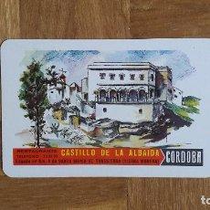 Coleccionismo Calendarios: CALENDARIO FOURNIER CASTILLO DE LA ALBAIDA. CORDOBA. AÑO 1965. NUEVO. VER FOTO ADICIONAL. Lote 195151365