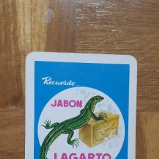 Coleccionismo Calendarios: CALENDARIO FOURNIER JABON LAGARTO AÑO 1965. VER FOTO ADICIONAL. Lote 195151626