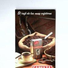 Coleccionismo Calendarios: CALENDARIO DE BOLSILLO 1985. SAIMAZA CAFES. Lote 195187711
