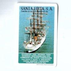 Coleccionismo Calendarios: CALENDARIO DE BOLSILLO 1985. SANTA LUCÍA SEGUROS. Lote 195187803