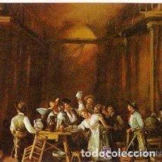 Coleccionismo Calendarios: -60729 CALENDARIO PINTURA LA TABERNA, AÑO 1982, CON PUBLICIDAD, SERIE DLB 120. Lote 195187861