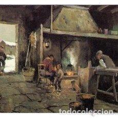 Coleccionismo Calendarios: -60060 CALENDARIO PINTURA FAMILIA EN LA COCINA CON PERRO, AÑO 1982, SERIE IG, CON PUBLICIDAD. Lote 195188185