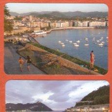 Coleccionismo Calendarios: 2 CALENDARIOS DE BOLSILLO DE SERIE AÑO 2011 PAÍS VASCO - SIN PUBLICIDAD - VER FOTO DE REVERSO. Lote 195232073