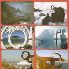 Coleccionismo Calendarios: 8 CALENDARIOS DE BOLSILLO DE SERIE AÑOS 1998 - 2013 PAÍS VASCO - VER FOTO DE REVERSOS. Lote 195232316