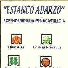 Coleccionismo Calendarios: CALENDARIO PUBLICITARIO - 2004 - ESTANCO ADARZO - SANTANDER. Lote 195243750