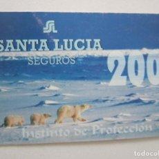 Coleccionismo Calendarios: CALENDARIO SANTA LUCÍA 2001. Lote 195287633