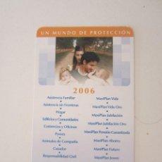 Coleccionismo Calendarios: CALENDARIO SANTA LUCÍA 2006. Lote 195287978