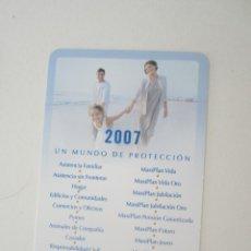 Coleccionismo Calendarios: CALENDARIO SANTA LUCÍA 2007. Lote 195288050