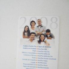 Coleccionismo Calendarios: CALENDARIO SANTA LUCÍA 2008. Lote 195288123