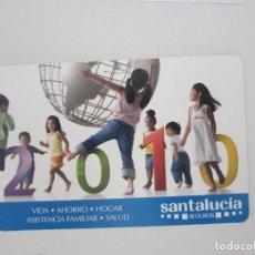 Coleccionismo Calendarios: CALENDARIO SANTA LUCÍA 2010. Lote 195288282