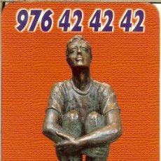 Coleccionismo Calendarios: CALENDARIO PUBLICITARIO - 2004 - RADIO TAXI ZARAGOZA. Lote 195297888