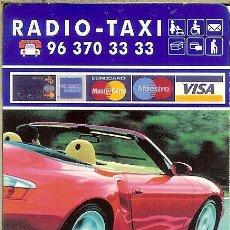 Coleccionismo Calendarios: CALENDARIO PUBLICITARIO - 2004 - RADIO TAXI VALENCIA - MUTUA VALENCIANA AUTOMOVILISTA. Lote 195298371