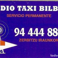 Coleccionismo Calendarios: CALENDARIO PUBLICITARIO - 2004 - RADIO TAXI BILBAO. Lote 195298677