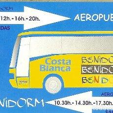 Coleccionismo Calendarios: CALENDARIO PUBLICITARIO - 2004 - COSTA BLANCA. BENIDORM - AEROPUERTO. Lote 195330366