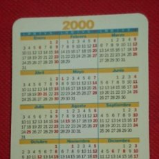 Coleccionismo Calendarios: CALENDARIO ARCO SANTA MARIA GIGANTILLOS DE BURGOS AÑO 2000. Lote 195331423