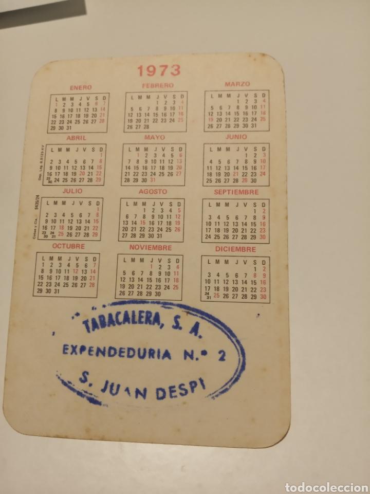 Coleccionismo Calendarios: Chica cuño tabacalera - Foto 2 - 195338531