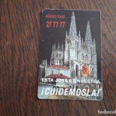 Coleccionismo Calendarios: CALENDARIO DE PUBLICIDAD RADIO TAXI BURGOS AÑO 1995. Lote 195353377