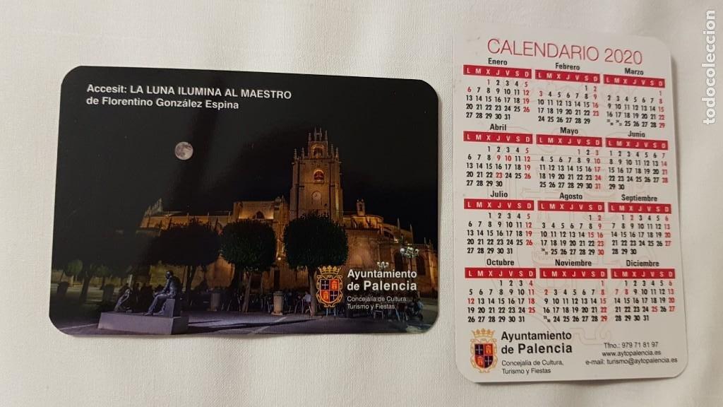 CALENDARIO PUBLICITARIO. AYUNTAMIENTO DE PALENCIA. AÑO 2020 (Coleccionismo - Calendarios)