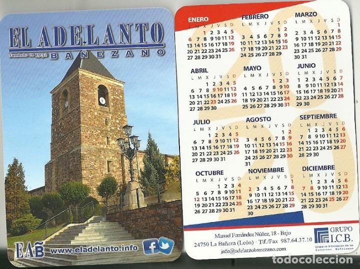 CALENDARIO PUBLICITARIO. EL ADELANTO BAÑEZANO. AÑO 2020 (Coleccionismo - Calendarios)