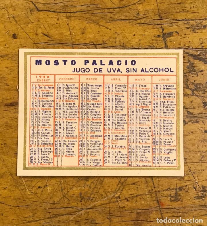 MOSTO PALACIO, CALENDARIO DE BOLSILLO 1943 (Coleccionismo - Calendarios)